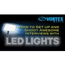 How to Set up and Shoot Awesome Interviews with LED Lights (On Demand)